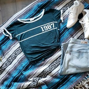 80'S Vintage Style 1987 T-shirt